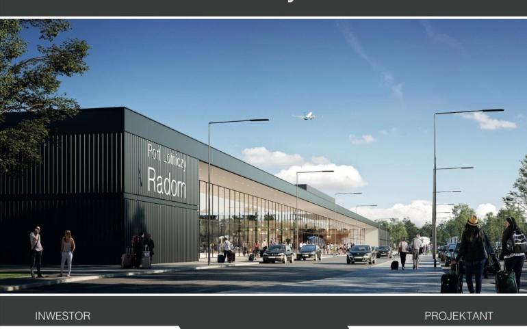 Uroczysta inauguracja budowy lotniska Radom-Sadków
