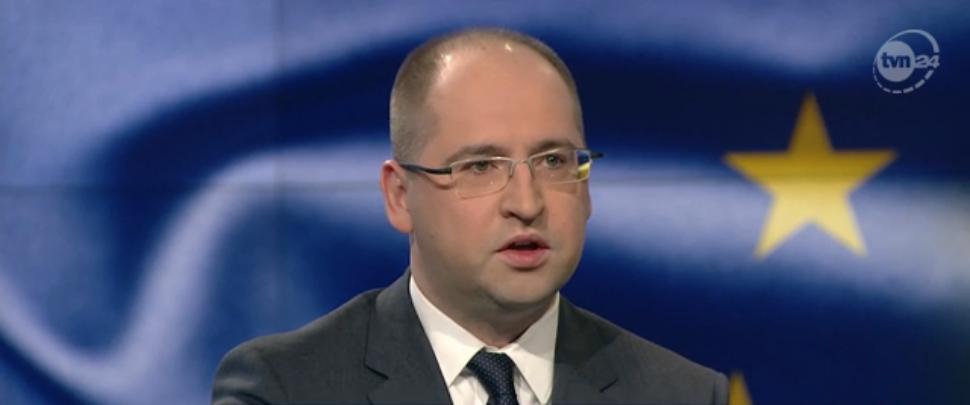 "Adam Bielan w ""Faktach po Faktach"" TVN24"