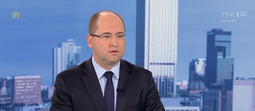 """Adam Bielan gościem programu """"KWADRANS POLITYCZNY"""" TVP1"""