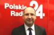 """Adam Bielan gościem programu """"Świat24"""" /Polskie Radio24"""