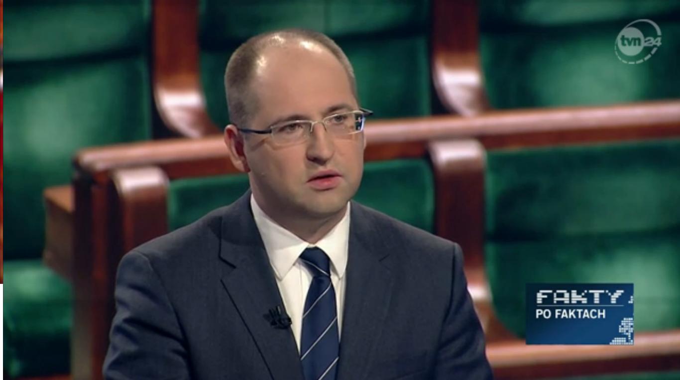 """Adam Bielan gościem programu """"Fakty po Faktach"""" TVN24"""