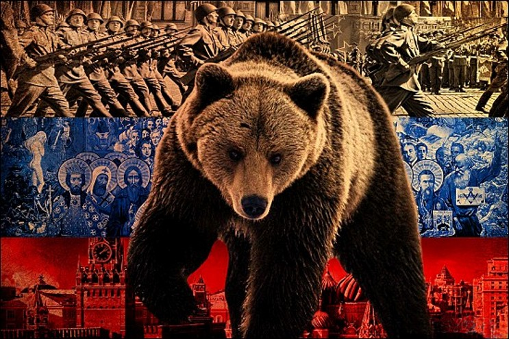 Pacyfistyczna Europa nie jest w stanie przyjąć do wiadomości, że ten rosyjski niedźwiedź powoli wstaje.