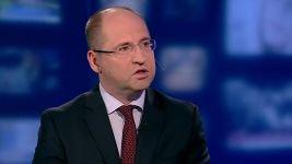 "Adam Bielan gościem programu ""Panorama Opinii"" /TVP INFO"