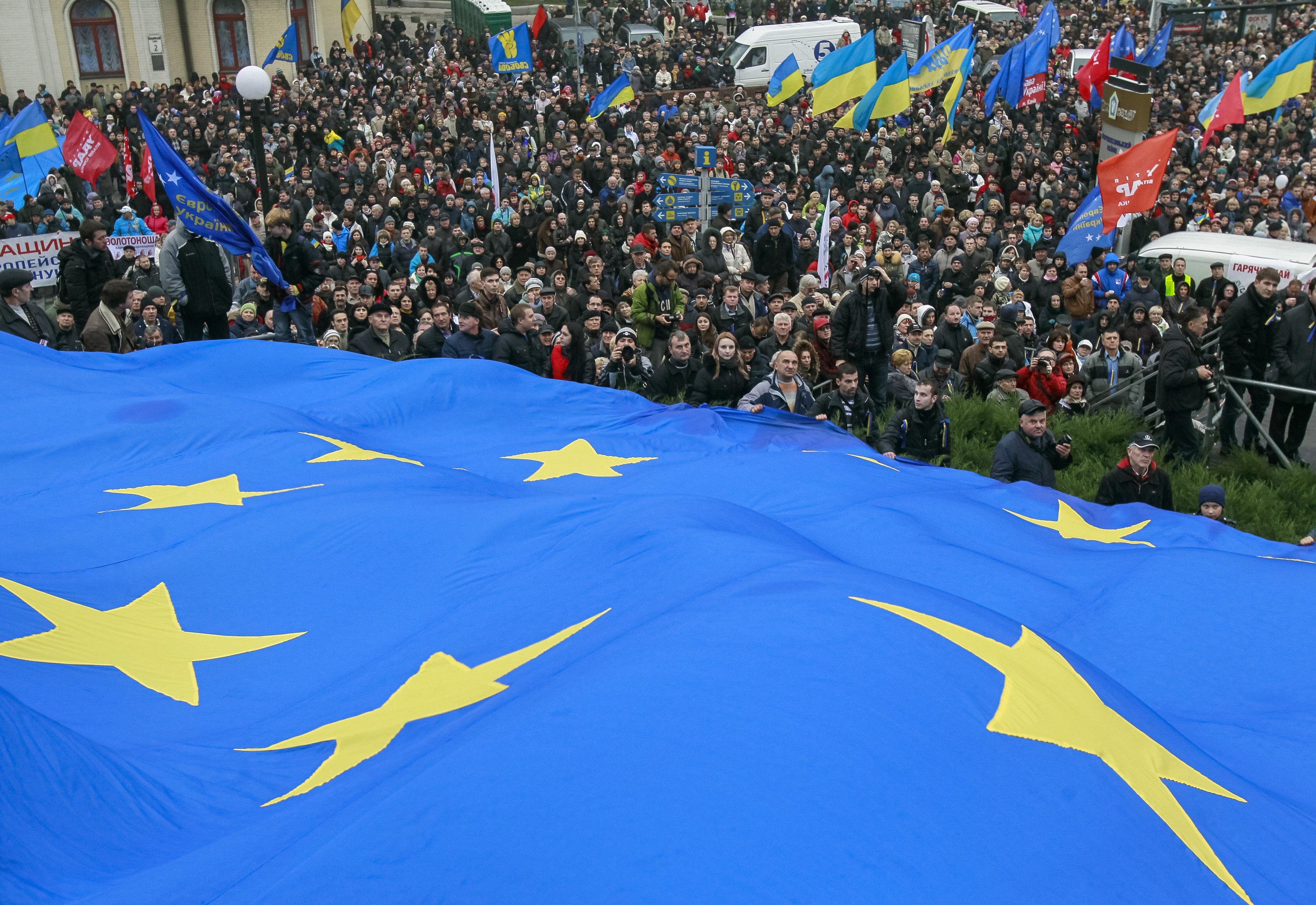 Oddalenie Ukrainy od Unii Europejskiej